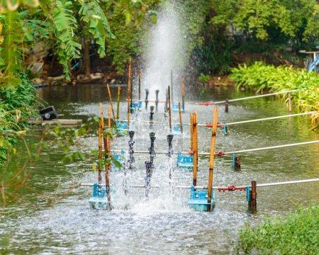 Water turbine working