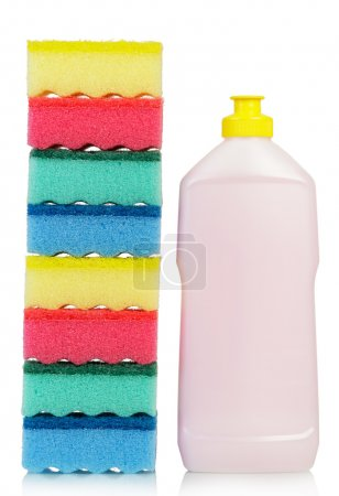 Sponges and cleaner