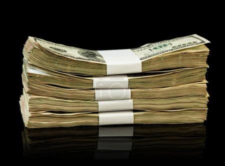 The dollar Money bills