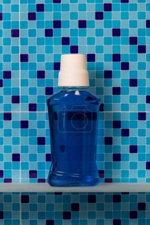 Bath mouthwash bottle