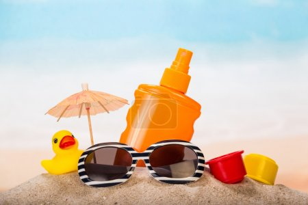 Products for relaxing on the beach