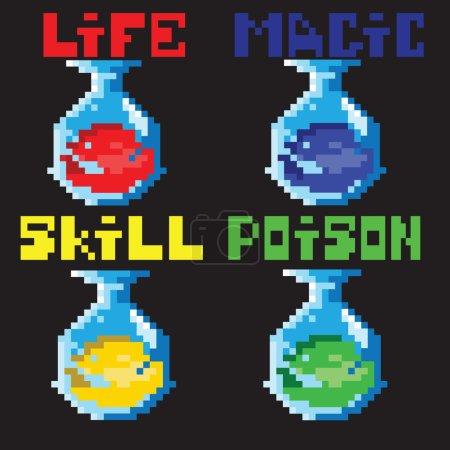 Set potions in pixels