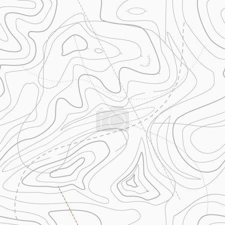 Topographic topo contour map background