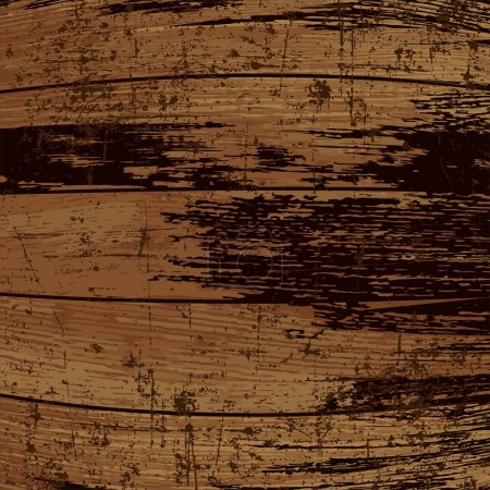 Template Grunge Wood Texture