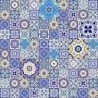 Mega Gorgeous seamless patchwork pattern from colo...