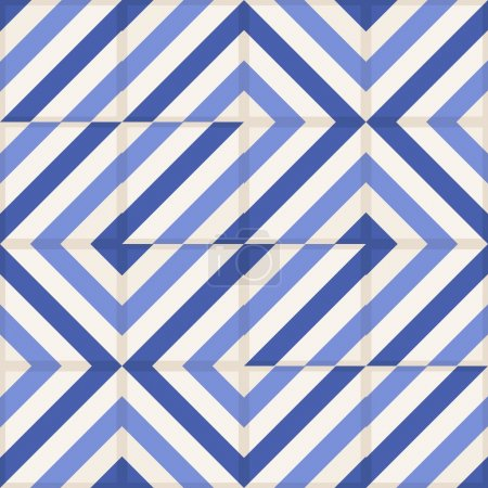 Gorgeous seamless Moroccan tiles pattern
