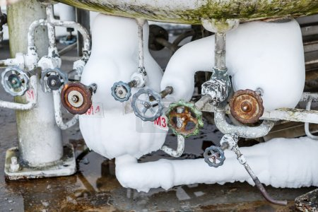 Valve for nitrogencontrol in factory