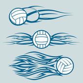Tribal Volleyballs