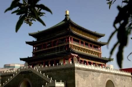 Xi'an, China: C. 1384 Bell Tower