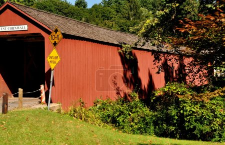 West Cornwall, CT: 1864 Covered Bridge