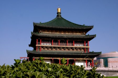 Xi;'an, China: c. 1384 Bell Tower