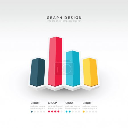 3d arrow infographics