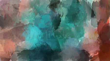 Abstract grunge watercolor background