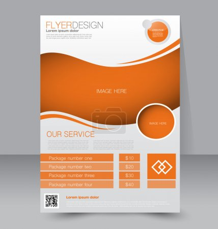 Flyer template or business brochure