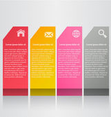 Infographics template for business, education, web design, banners, brochures, flyers.