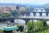 Spring Prague and its Bridges, Czech Republic