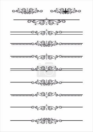 decorative graphic divider elements