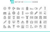 Sada 50 lékařské ikon