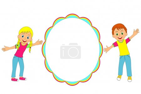 Children frame.