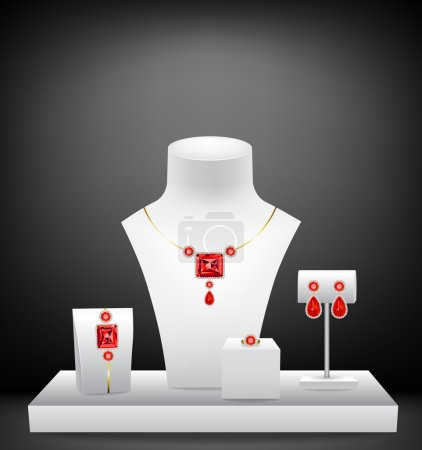 Mannequins for jewelries