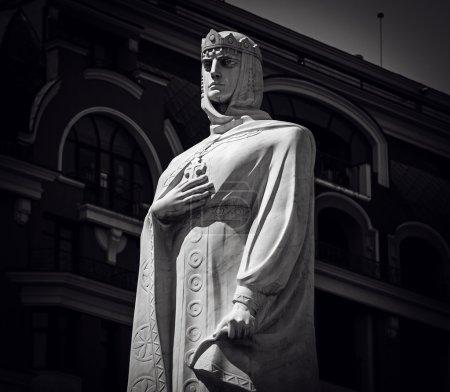 Monument to princess Olga in Kyiv, Ukrain...