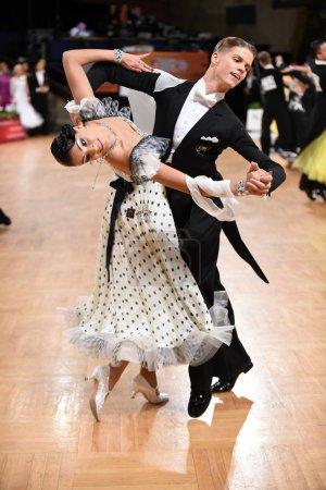 Ballroom dance couple