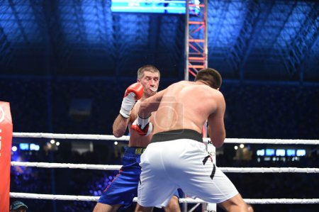 Ranking boxing fight in the Arena Lviv Stadium