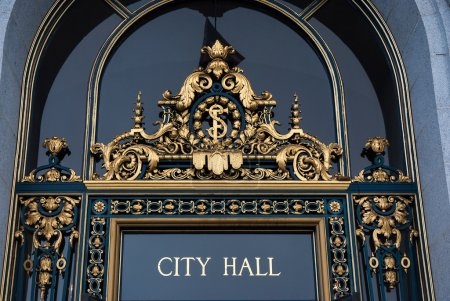 Entrance to City Hall, San Francisco,California