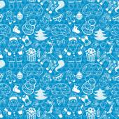 Vánoční vzor bezešvé