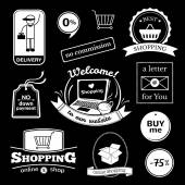 Online-shopping Zeichen Satz