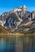 Lake And Alps In Salzkammergut,Austri
