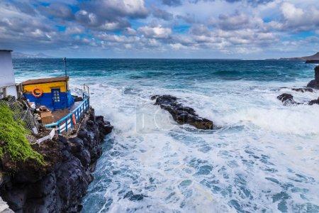 Rocky Seashore - Las Palmas, Gran Canaria, Spain