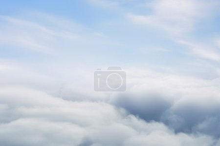 Photo for Above the clouds view background - Royalty Free Image