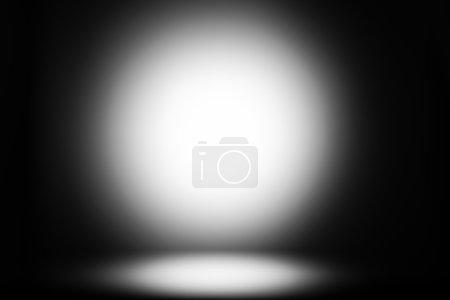 Black-and-white glow