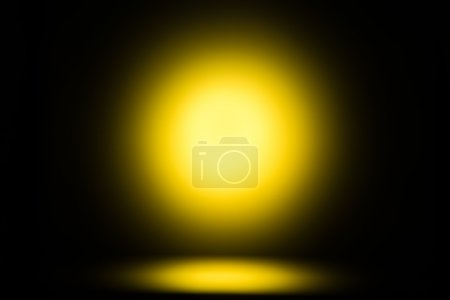 yellow glow, abstract background