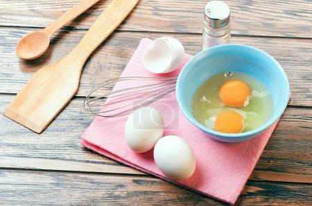 Fresh Eggs for omelet