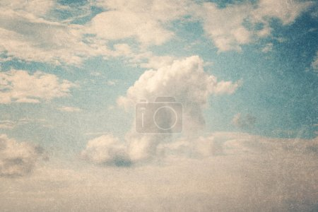 Sky with grunge texture