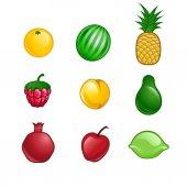 Roztomilý ovoce sada