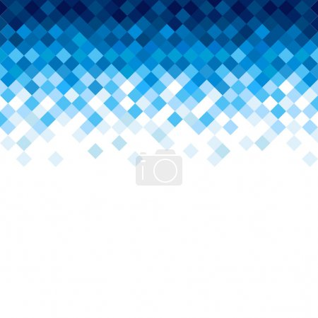 Abstract rhombus mosaic background design element....