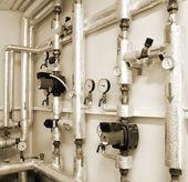 Topný systém průmyslové vody potrubí