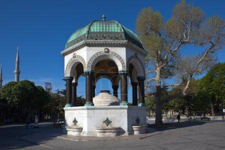 German Fountain in Sultanahmet Square. Istanbul. Turkey