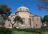 Church of St. Irene in the park of Topkapi Palace. Istanbul. Turkey.