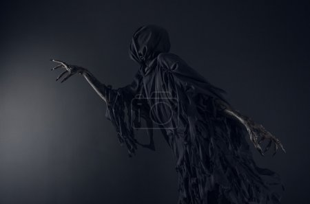 Photo for Death on a black background, Dementor in studio - Royalty Free Image
