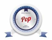 Music label sticker