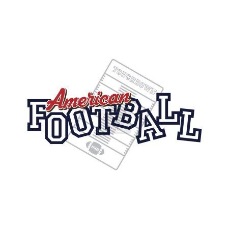 American football logo