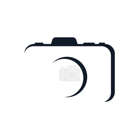 Illustration for Photography - logo template, vector illustration - Royalty Free Image