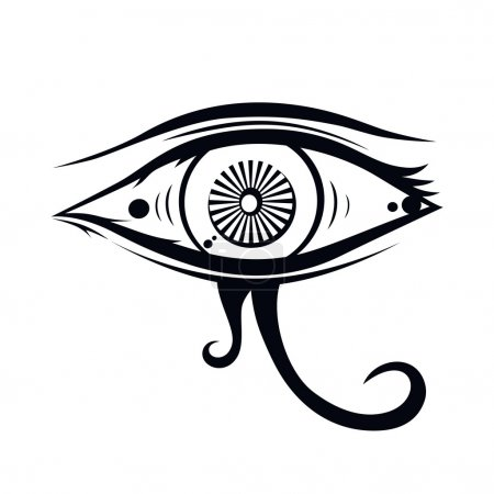 eye of horus  illustration