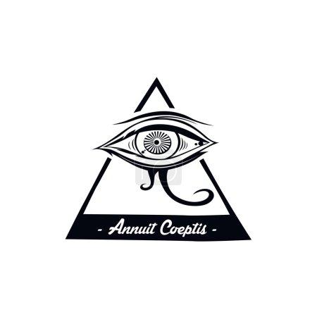 eye of horus  illustration