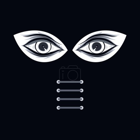 abstract eye illustration