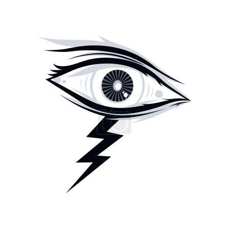 thunder bolt eye